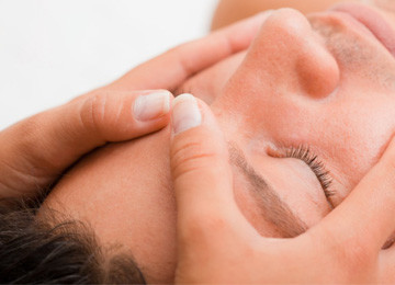 European Facial treatment